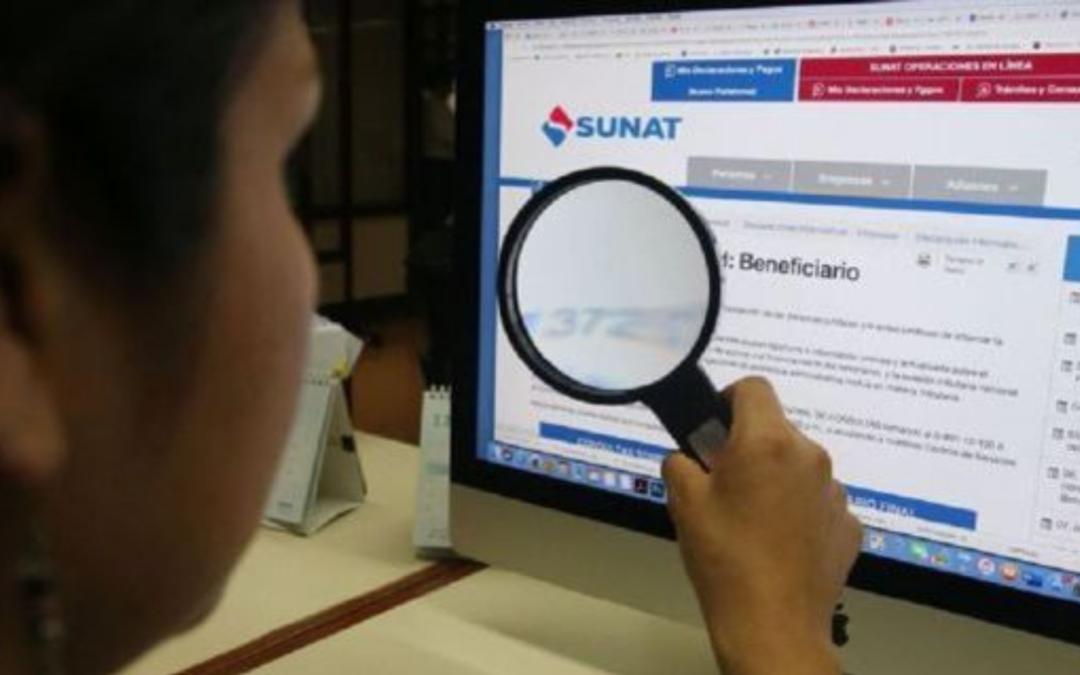 La Sunat tendrá acceso a información de cuentas bancarias con más de S/10.000